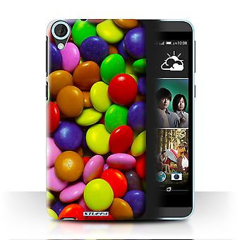 STUFF4 Case/Cover for HTC Desire 820q Dual/Smarties/Sweets & Candy