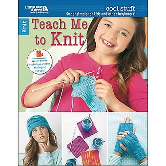 Leisure Arts-Cool Stuff Teach Me To Knit LA-6648