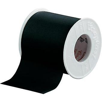 PVC tape Coroplast Black (L x W) 10 m x 50 mm Acr