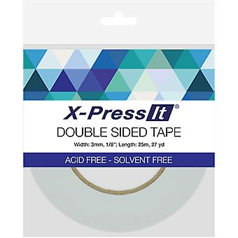 X-Press es doppelseitiges Klebeband 3mm -.125