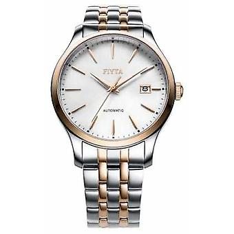 FIYTA Mens Two Tone Strap Round Dial WGA1010.MWM Watch