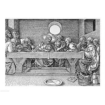 Nattverden puben 1523 plakatutskrift av Albrecht Durer