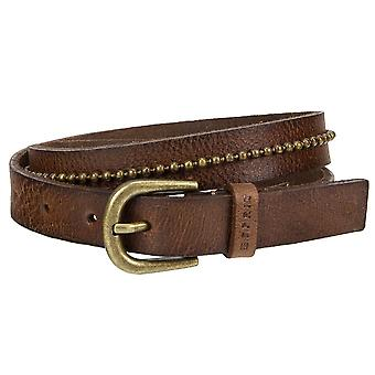ESPRIT of slim leather belt with buckle 076EA1S004-225