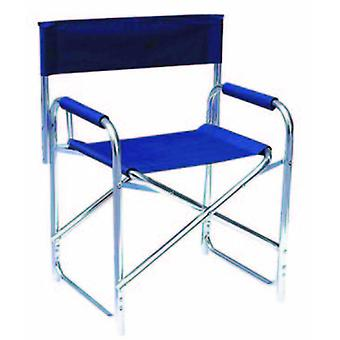 Cladellas  Sillon Alum.Director Blue Canvas (Outdoor , Garden Toys , Tables And Chairs)