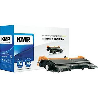 KMP Toner cartridge replaced Brother TN-2010, TN-2210, TN-2220 Compatible Black 2600 pages B-T47