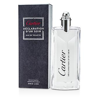 Cartier Erklärung d ' un Soir Eau De Toilette Spray 100ml/3,3 oz