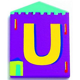 Djeco Cottage Letter - U (Babies and Children , Toys , Others)