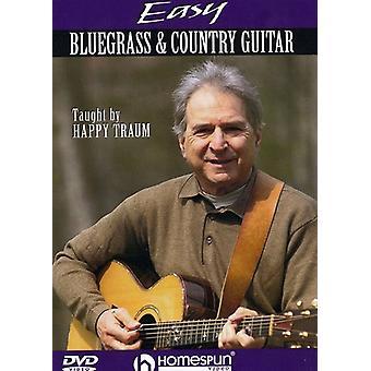 Lätt Bluegrass & land gitarr [DVD] USA import