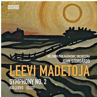 L. Madetoja - Leevi Madetoja: Symphony No. 2; Kullervo; Elegy [CD] USA import