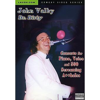 John Valby - koncert for klaver stemme & 500 Sceaming en huller [DVD] USA import