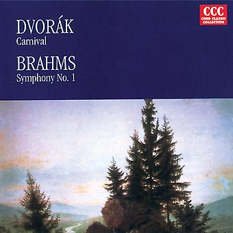 Dvorak/Brahms - Dvorak: Carnaval Op.92/Brahms: Symfonie No.1 in C Minor [CD] USA import