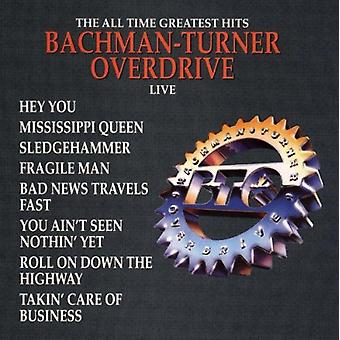 Bachman-Turner Overdrive - Greatest Hits-Live [CD] USA import