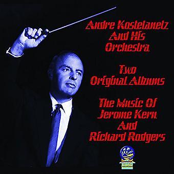 André Kostelanetz & hans orkester - musik af Jerome Kern & Richard Rodgers [CD] USA import