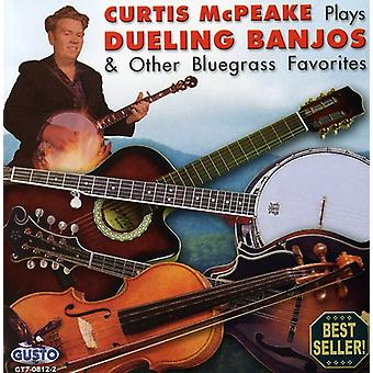 Curtis McPeake - spiller Dueling Banjos & andre Bluegrrass [CD] USA import