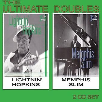 Lightnin' Hopkins & Memphis Slim - ultimative fordobler [CD] USA import