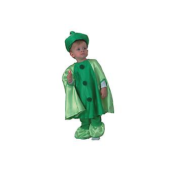 Pea costume pea costume for children 2-3 years size 104 T2