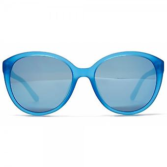 Lacoste Kids Curvy Cateye Sunglasses In Blue