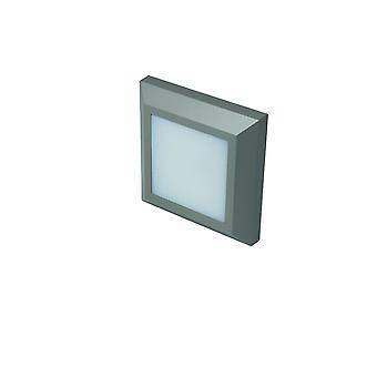 LED Robus Twilight 3W LED Square Wall Light