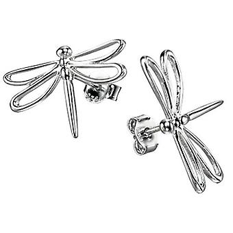 925 Silver Dragonfly Earring