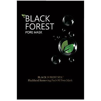 Black Forest Spa Mineral Mud Nose Mask for Blackhead and Acne (10 x 6 ml) Anti-Acne Facial Mask