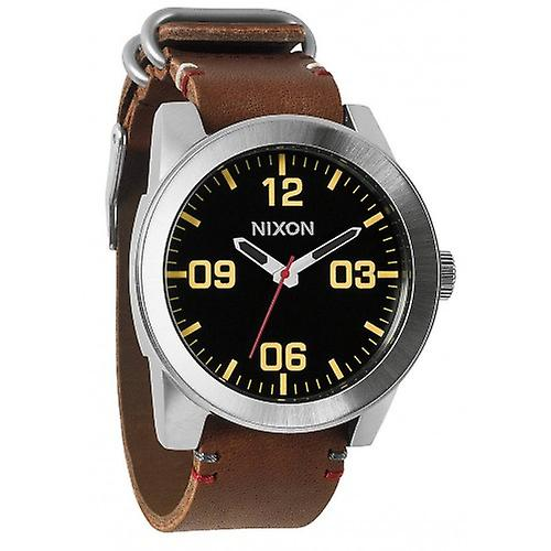 Nixon The Corporal Watch - Black/Brown