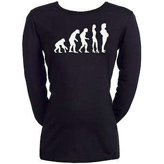 Spoilt Rotten Evolution To Pregnancy Maternity T-Shirt