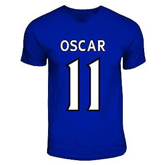 Oscar Chelsea-Held-T-Shirt (royal blau)
