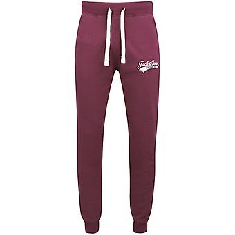 Jack and Jones Zugang EXP 13 Burgund Sweat Hose