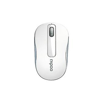 Rapoo M10Plus 2.4 G Wireless 3 key Mouse, White