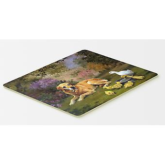 Yellow Labrador and Chicks Kitchen or Bath Mat 20x30