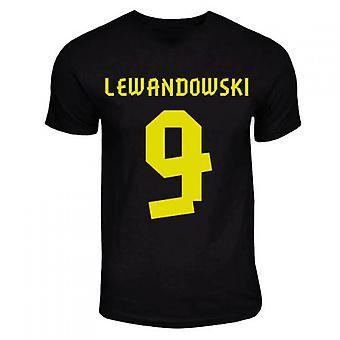 Robert Lewandowski Dortmund Away Hero T-shirt (black)
