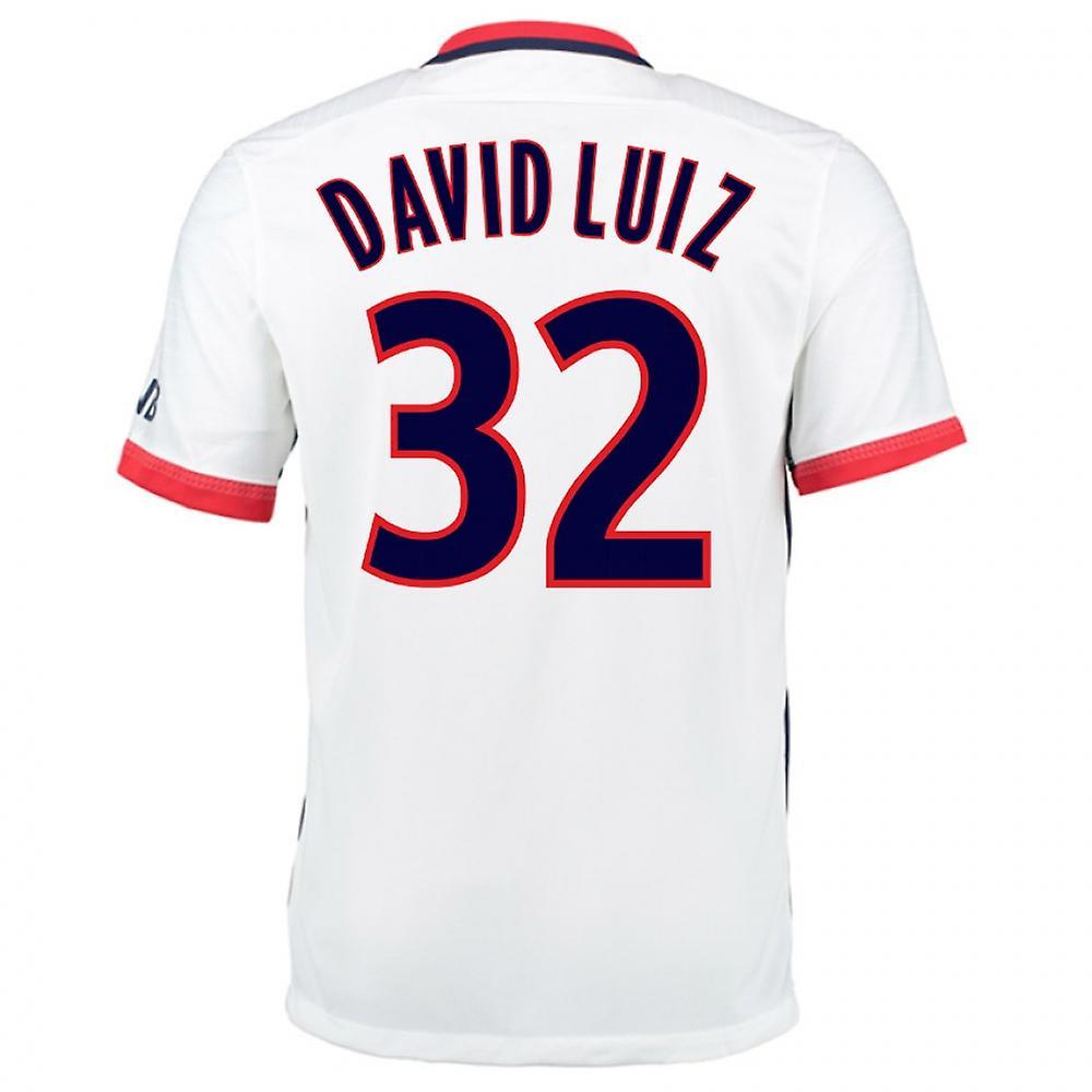 2015-16 PSG Nike Away Kit (David Luiz 32)