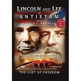 Lincoln & Lee i slaget ved Antietam-Co [DVD] USA importerer