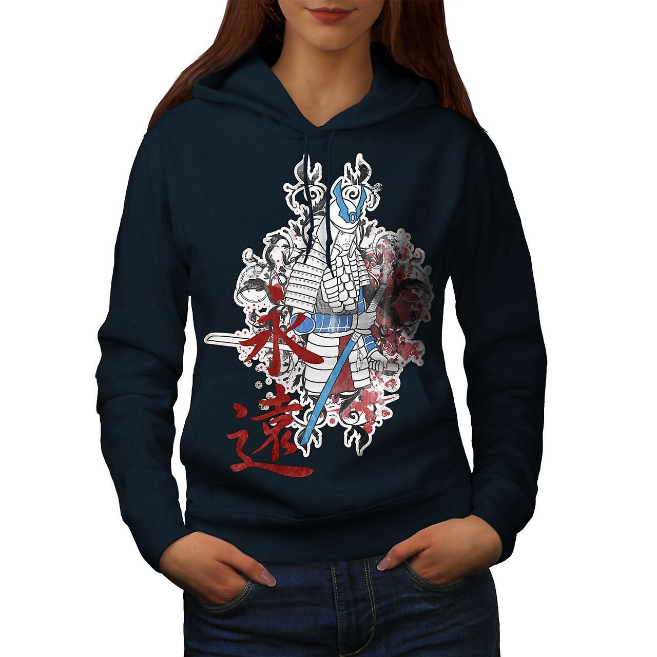 Art Fantasy Katana femmes NavyHoodie