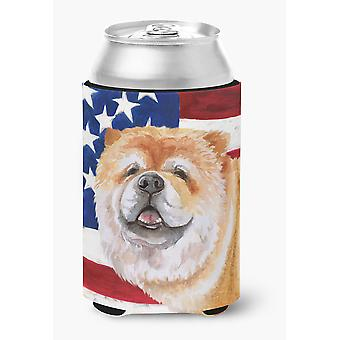 Carolines Treasures  BB9695CC Cane Corso Patriotic Can or Bottle Hugger