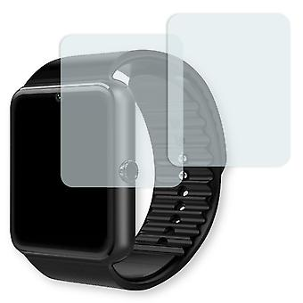 AsiaLONG sports Smartwatch display protector - Golebo crystal-clear protector (deliberately smaller than the display, as this is arched)