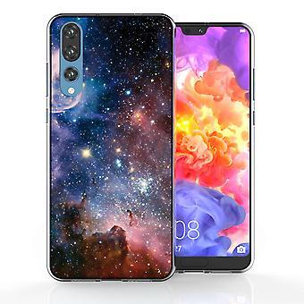 Huawei P20 Pro blauw sterrenbeeld TPU Gel geval