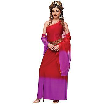 Roman Greek Goddess Sparta Deluxe Supreme Ancient Toga Womens Costume