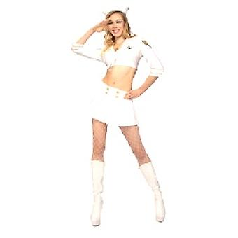 Navy pige kostume (12345)