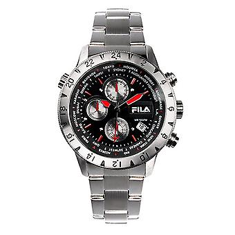 Fila men's watch chronograph stainless steel FA38-007-001