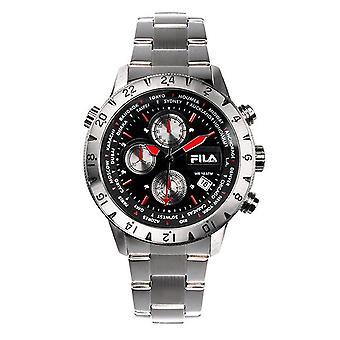 Fila heren horloge chronograaf roestvrijstaal FA38-007-001