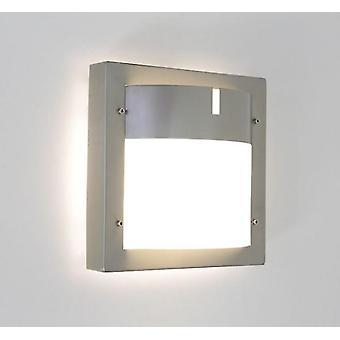 Væg lampe udendørs lampe Toja 24x24cm IP44 rustfrit stål E27