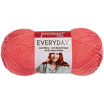 Everyday Solid Yarn-Coral