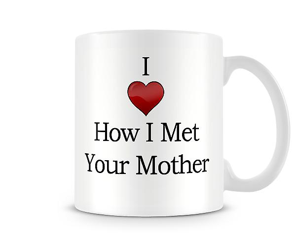 Amo How I Met Your Mother Stampato Mug