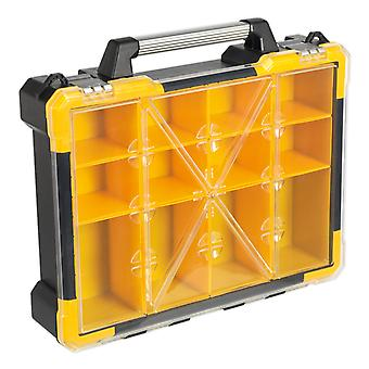 Sealey Apas12R Parts Storage Case With 12 Removable Compartments