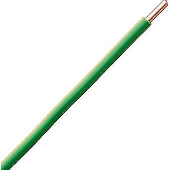 Strand H07V-U 1 x 10 mm² Green-yellow Kopp 1549050