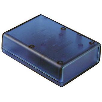 Hand-held casing 92 x 66 x 28 Acrylonitrile butadiene styrene Blue (transparent) Hammond Electronics 1593LTBU 1 pc(s)