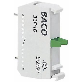 Contact 1 maker momentary 600 V BACO BA33P10 1 pc(s)