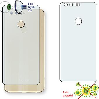 Huawei honor 8 back screen protector - Disagu ClearScreen protector (deliberately smaller than the display, as this is arched)