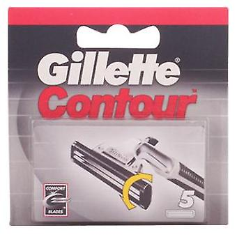 Gillette Contour Charger 5 Parts (Hygiene and health , Shaving , Knives and knives)